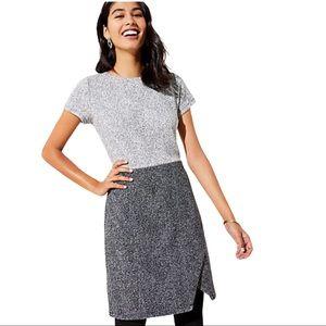 Loft short sleeve work dress
